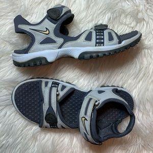 Vintage vtg Nike ACG strap sandals gray 7